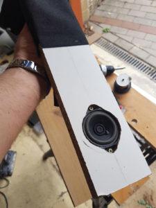 Lautsprecher eingesetzt