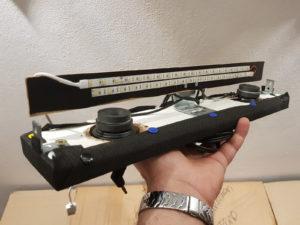 LED-Beleuchtung auf dem Sound-Board montiert