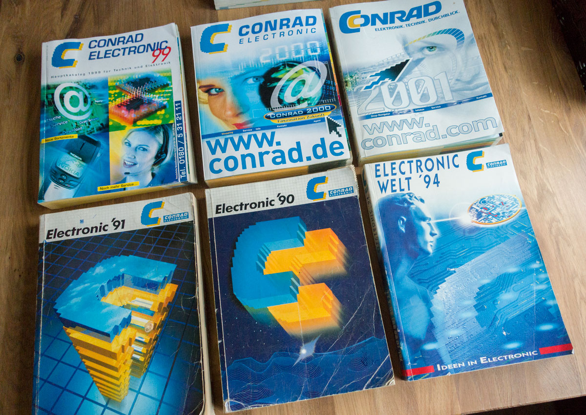 Conrad Katalog Anfordern