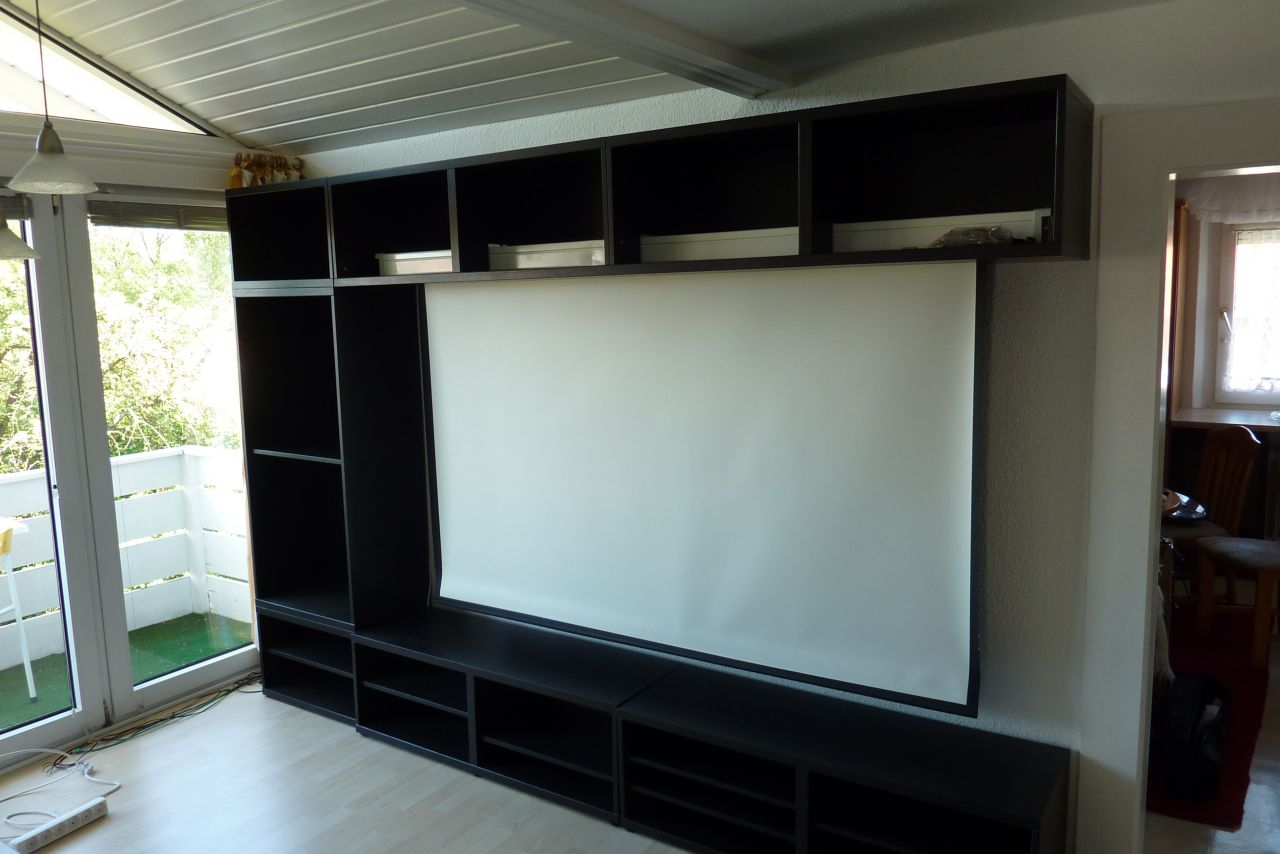 meine heimkino wohnwand aus dem hause ikea datistics. Black Bedroom Furniture Sets. Home Design Ideas