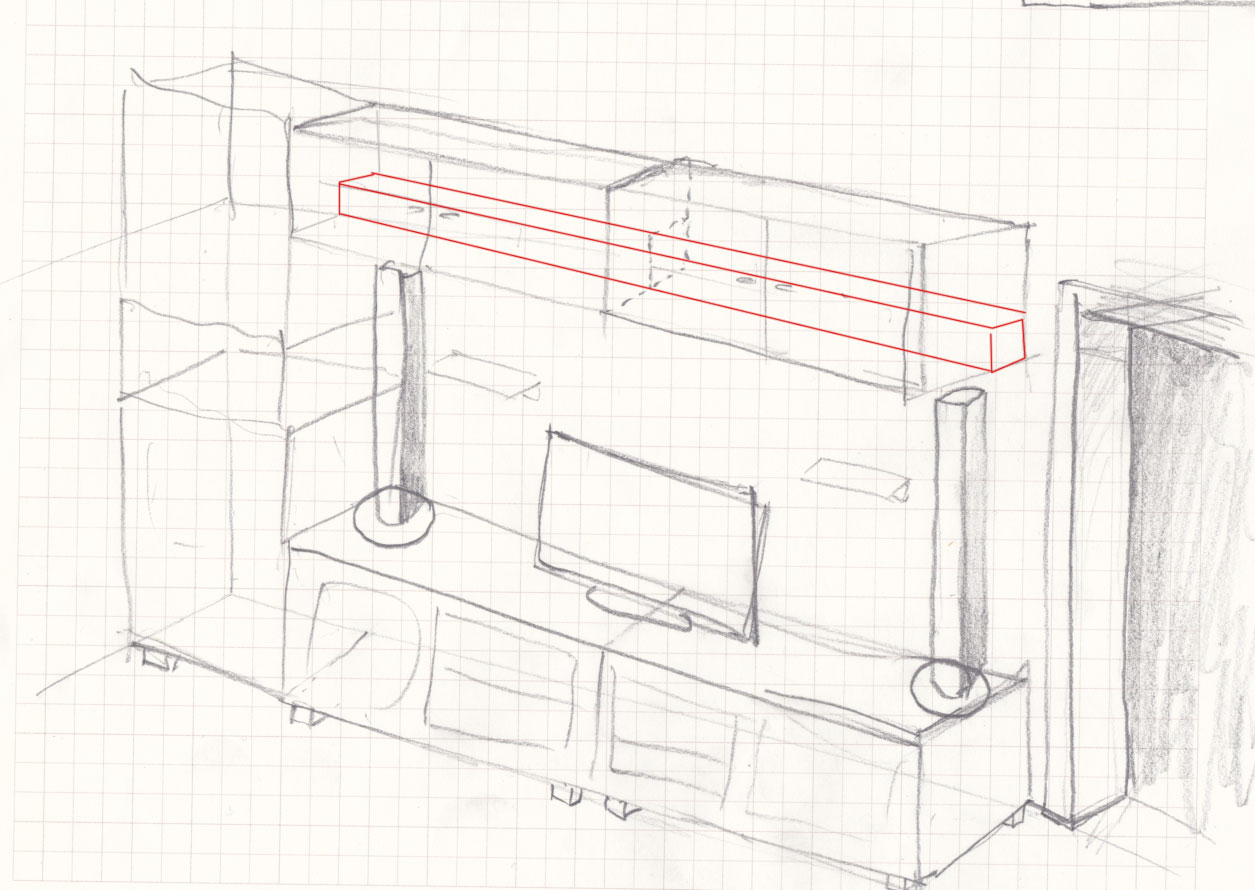 Meine heimkino wohnwand aus dem hause ikea datistics for Wohnwand 90er