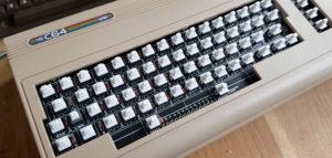 C64Mini mit echter Tastatur