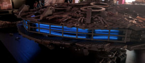 EL-Beleuchtung für den LEGO Millennium Falke