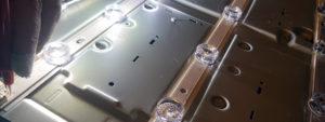 LG 47LB630V Reparatur: Defekte LEDs der Hintergrundbeleuchtung austauschen