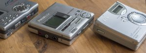 Tragbare Mini MiniDisc Player/Recorder