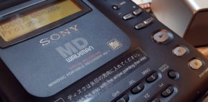 It's a kind of magic: SONY MZ-1 Minidisc-Recorder