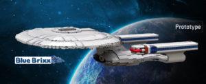 Unendliche Baustein-Weiten: StarTrek-Modelle von BlueBrixx