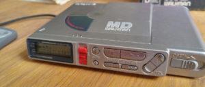Minidisc Schätzchen: SONY MZ-R37 mit Digital Addiction