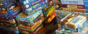 Spiele-Sammlung aufgeräumt