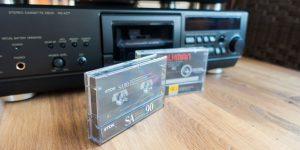 Vintage Tape Deck Sammlung